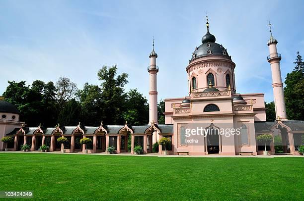 schwetzingen mosque - schwetzingen castle garden stock pictures, royalty-free photos & images