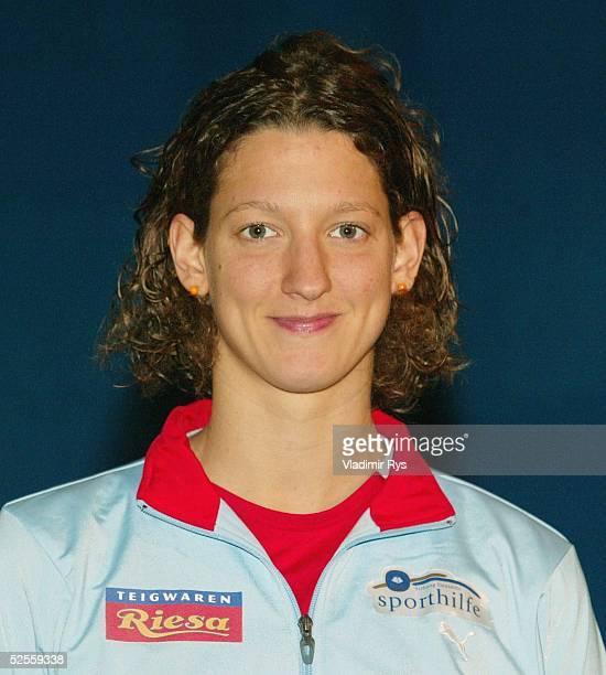 Schwimmen: Deutsche Meisterschaft 2004, Berlin; Antje BUSCHSCHULTE / SC Magdeburg 08.06.04.