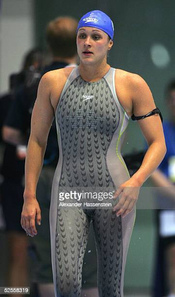 Schwimmen Deutsche Meisterschaft 2004 Berlin Hannah STOCKBAUER / GER 040604