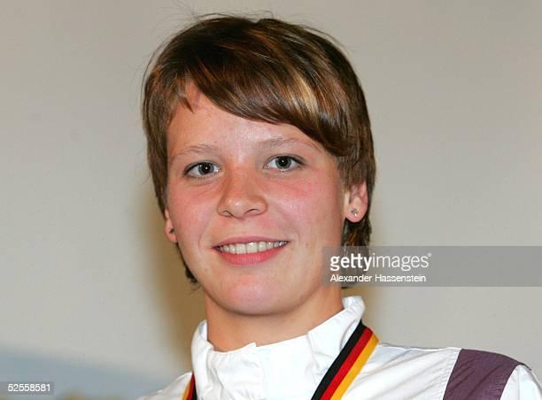 Schwimmen: Deutsche Meisterschaft 2004, Berlin; Kristin GOETZ / GER 05.06.04.
