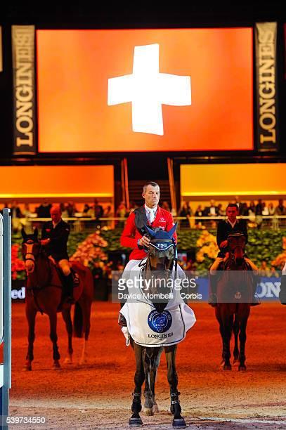 Schwizer Pius PSG Future wins MercedesBenz CSI 5* 2016 prize giving cerimony