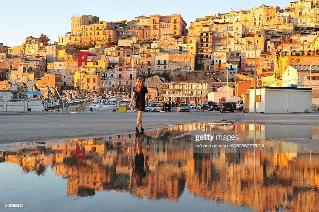 Sciacca (Sicily) : Stock Photo