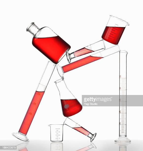 Science beakers