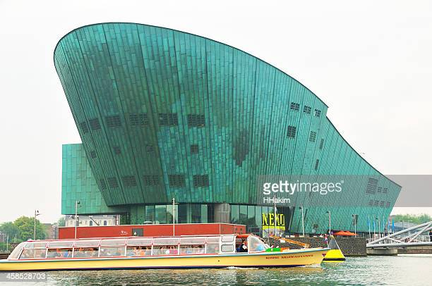 science center nemo in amsterdam - nemo museum stock pictures, royalty-free photos & images