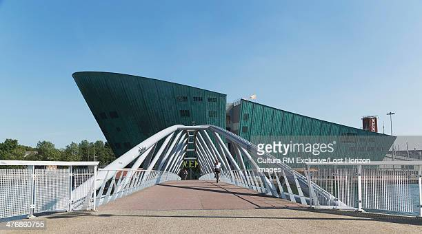nemo science centre, amsterdam, netherlands - nemo museum stock pictures, royalty-free photos & images