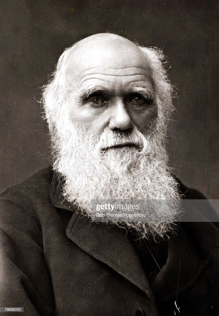 Science. Charles Darwin, (1809-1902). English scientist who developed the modern theory of evolution. : News Photo