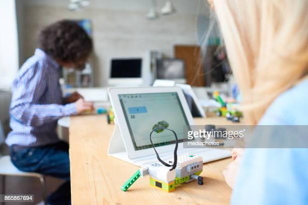 Wetenschap klasse voor het uitwerken van robots