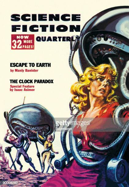 Science Fiction Quarterly Robot Attack
