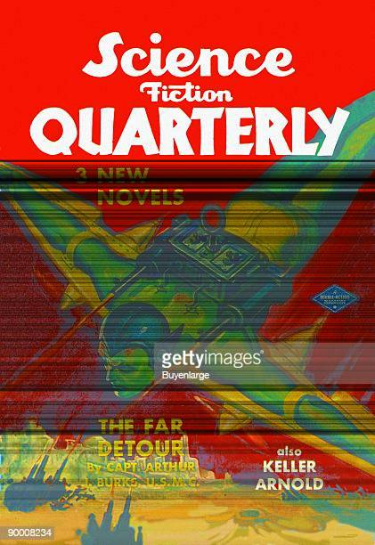 Science Fiction Quarterly Rocket Man Attacks