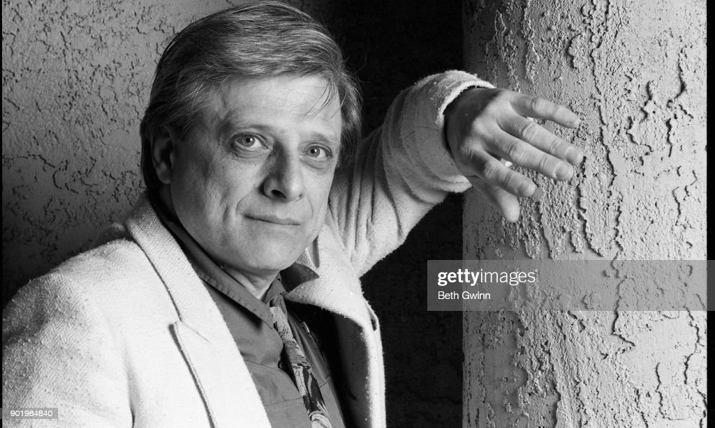 Science Fiction Writer Harlan Ellison poses for portrait on November 3, 1991 in Phoenix, Arizona.