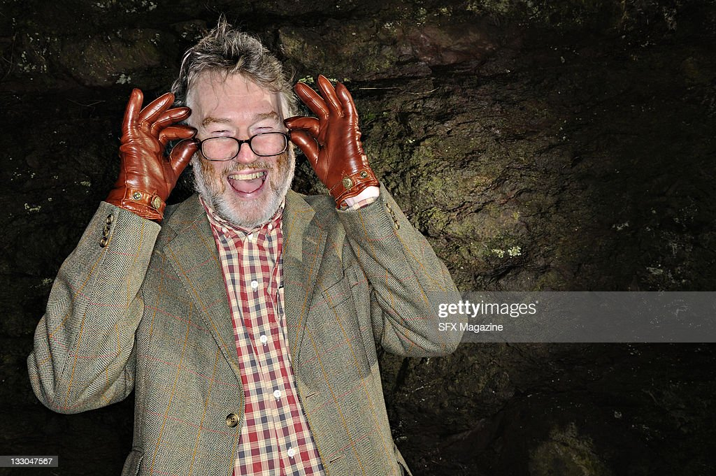 Science fiction writer Iain M. Banks in Edinburgh, January 16, 2008.