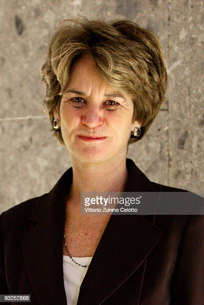 Science For Peace Vice President Kathleen Kennedy Townsend attends the Science For Peace First World Conference on November 20 2009 in Milan ItalyThe...