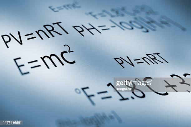 science formulas - physics ストックフォトと画像