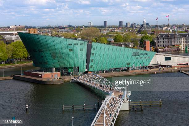 nemo science museum in amsterdam - nemo museum stock pictures, royalty-free photos & images