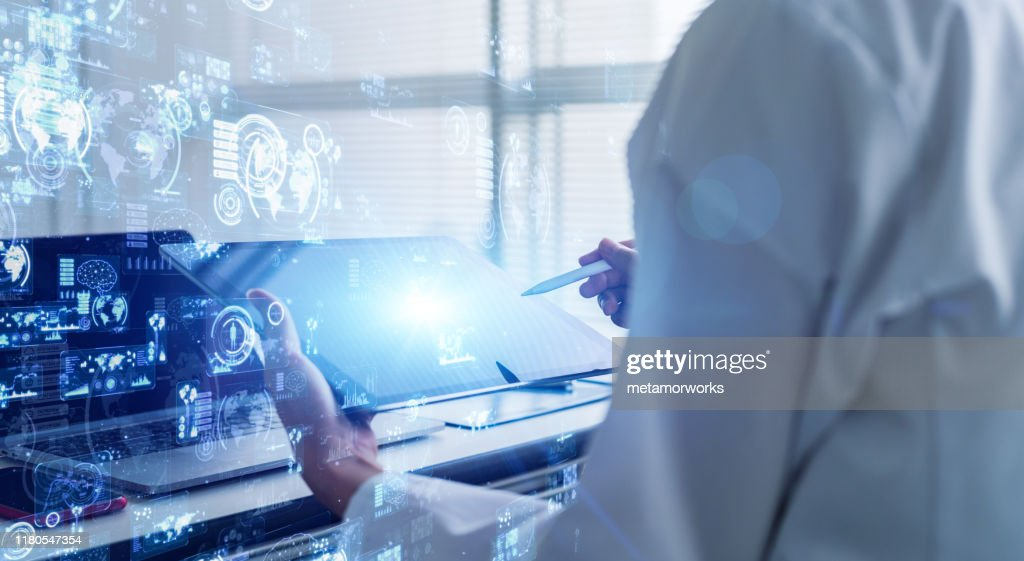 Science technology concept. Laboratory. Examination. Research. : Stock Photo