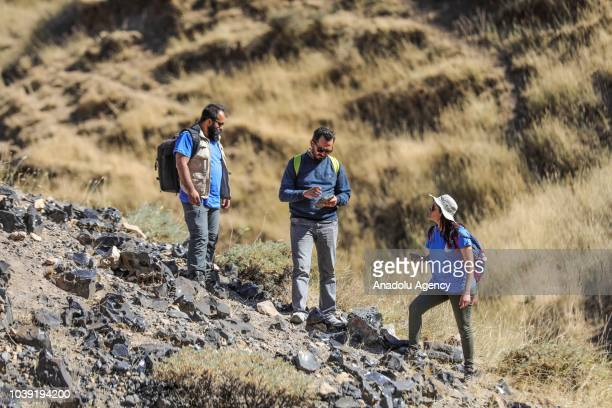 A scientific advisor of digging Yuzuncu Yil University Department of Anthropology Faculty of Letters Lecturer associate professor Ismail Baykara and...