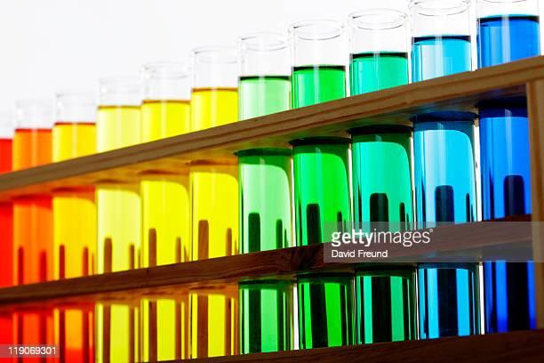 scientific laboratory glassware - david freund stock pictures, royalty-free photos & images