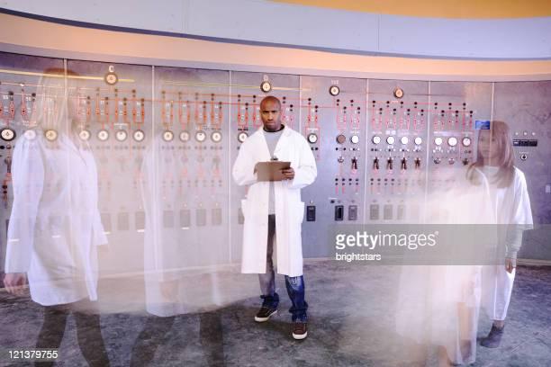 Wissenschaftlichen Labor