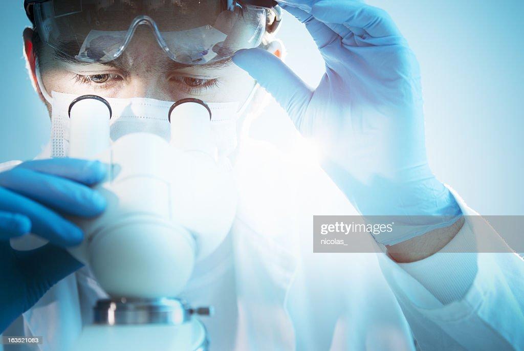 Scientific research : Stock Photo