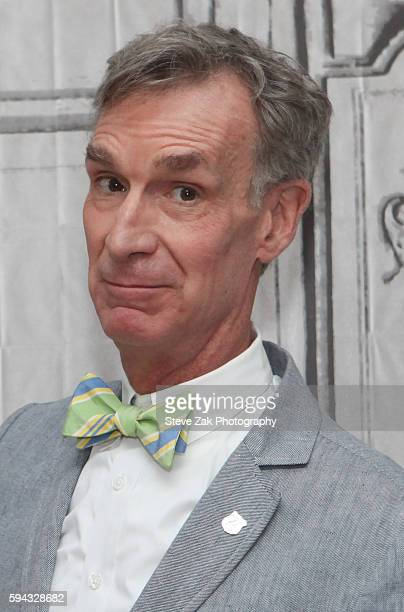 Scientist Bill Nye attends AOL Build #FindYourPark Series With The National Park Service at AOL HQ on August 22 2016 in New York City