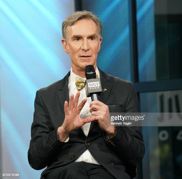 Scientist Bill Nye attends the Build Series at Build Studio on April 19 2017 in New York City