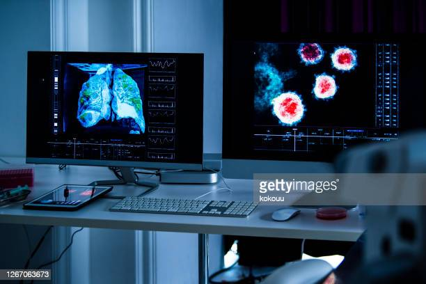 ウイルス解析を行う科学者 - medical condition ストックフォトと画像