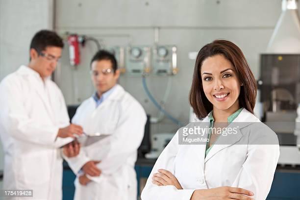 Scientist in Lab Environment