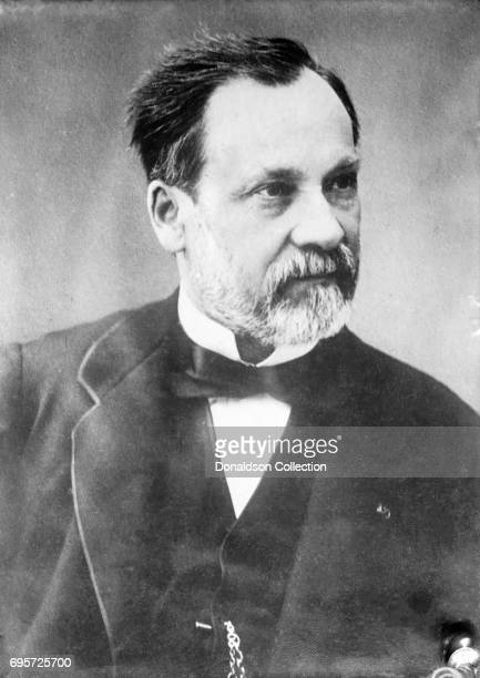 Scientist Louis Pasteur poses for a portrait in circa 1870