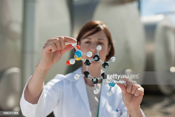 科学者屋外