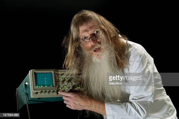 wissenschaftsberuf - strom haare stock-fotos und bilder