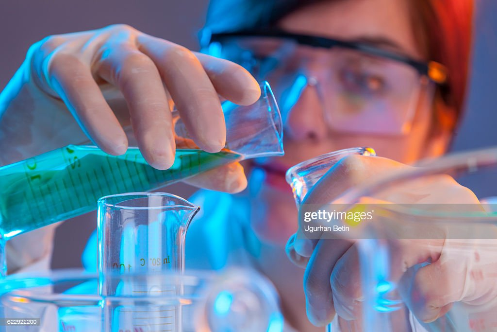 Scientist : Stock Photo