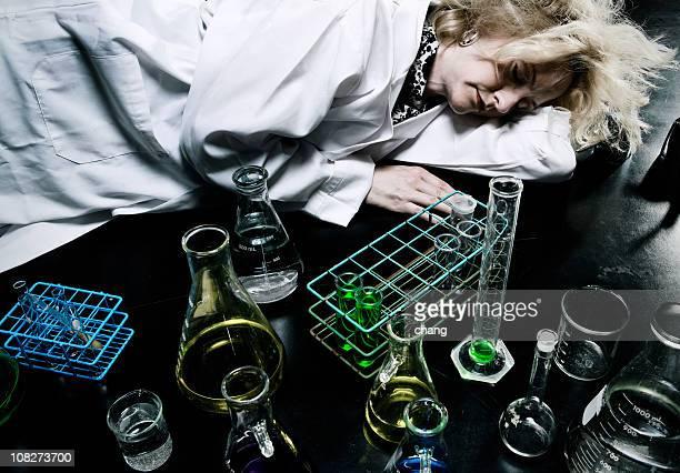Wissenschaftler sehr müde