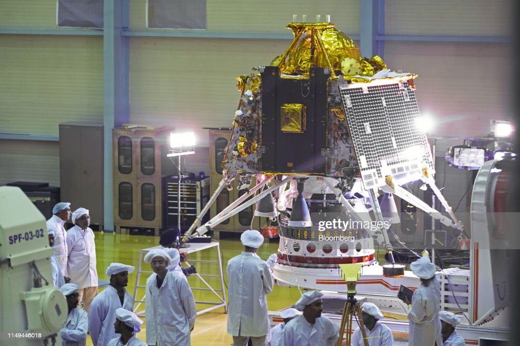 India Eyes Entry to Elite Moon Landing Club With July Launch : News Photo