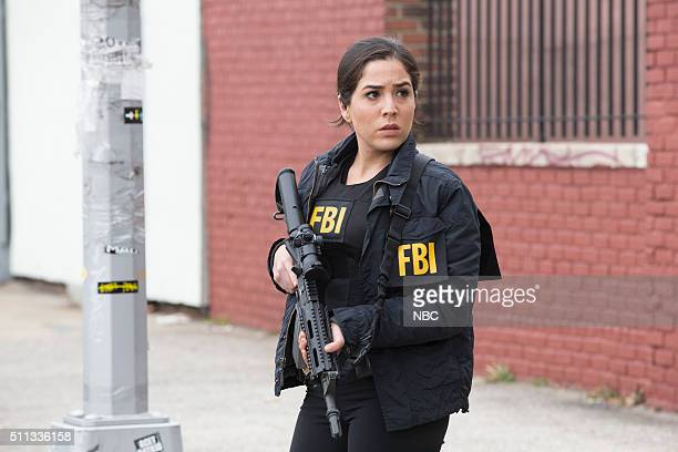 "Scientists Hollow Fortune"" Episode 112 -- Pictured: Audrey Esparza as Zapata --"