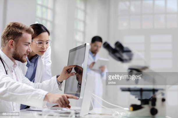 Scientists uses modern technology for its research