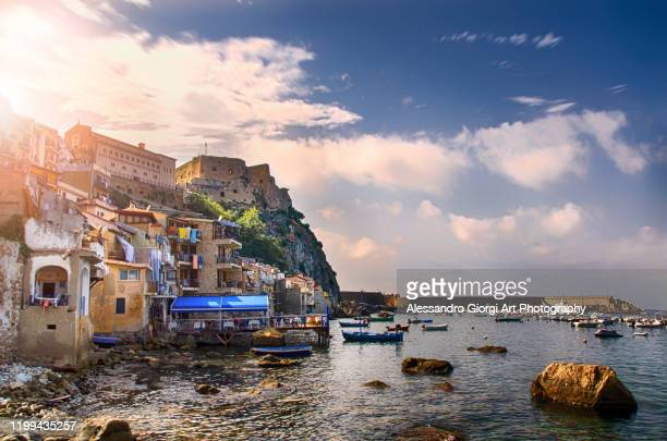 scilla - calabria stock pictures, royalty-free photos & images