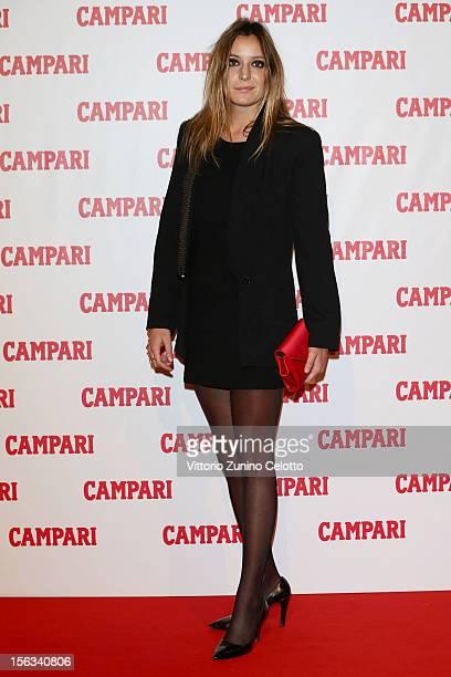 Scilla Ruffo Di Calabria attend the 2013 Campari Calendar unveiling cocktail party at the Campari Headquarters on November 13 2012 in Milan Italy