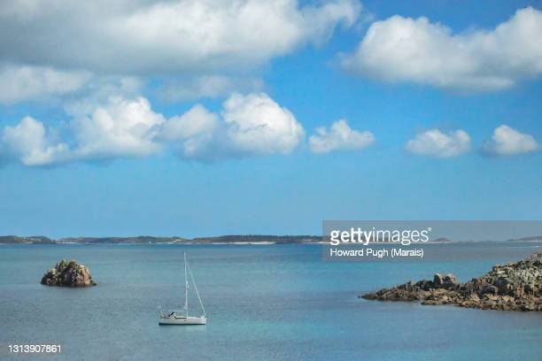scilly island atmospheric coastal landscapes - idyllic stock pictures, royalty-free photos & images