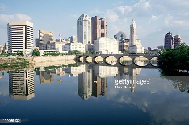 scioto river -  columbus, ohio - オハイオ州コロンバス ストックフォトと画像