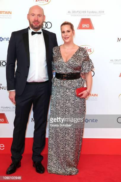 Scirpt writer Anika Decker and her brother Jan Decker Decker Bros during the 46th German Film Ball at Hotel Bayerischer Hof on January 26 2019 in...