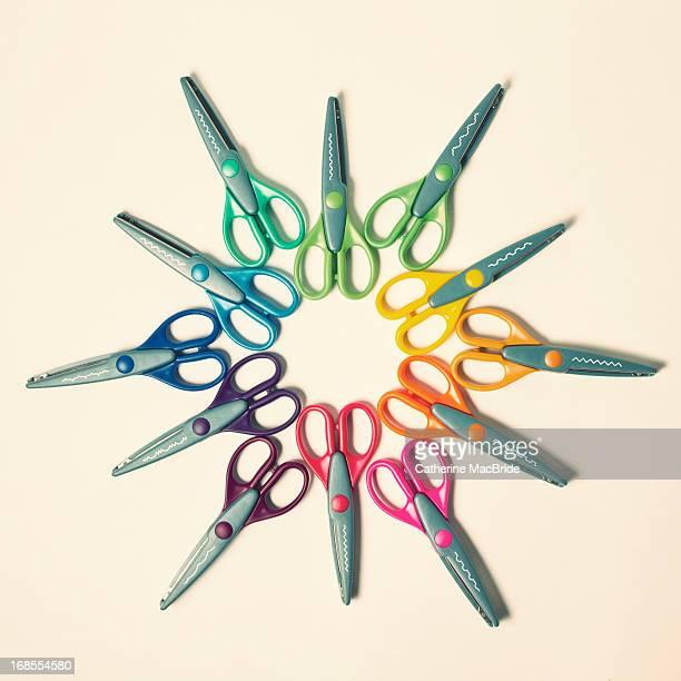 scissor mandala... - catherine macbride ストックフォトと画像
