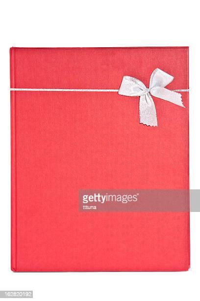Roten Geschenk-box, Freisteller auf weißem Hintergrund