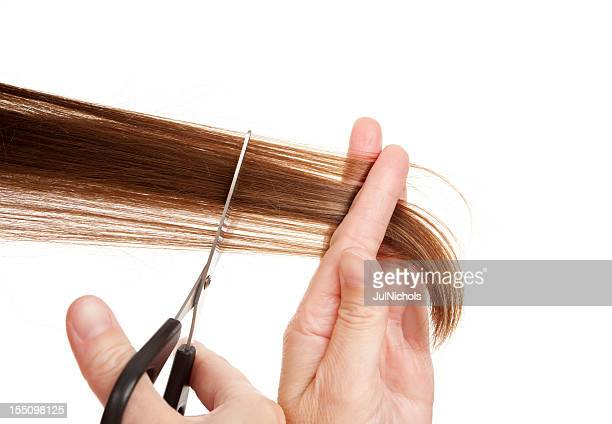 Scissors Cutting Hair