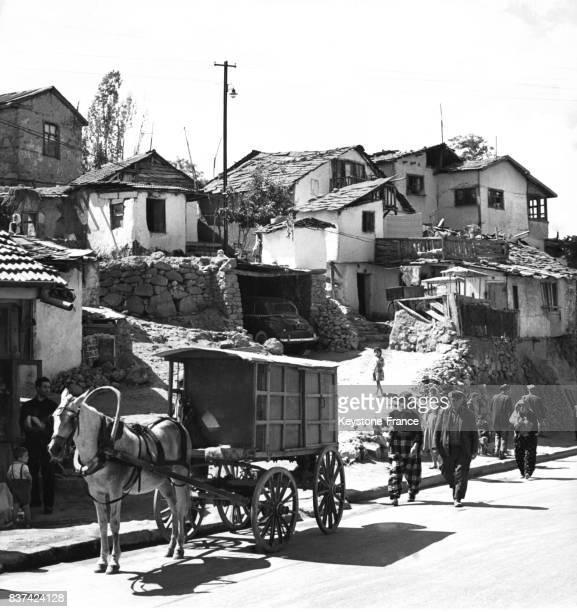 Scène de rue à Ankara Turquie en 3 octobre 1963