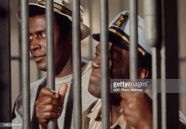 Scoey Mitchell Nipsey Russell appearing in the Walt Disney Television via Getty Images series 'Barefoot in the Park' episode 'Something Fishy'