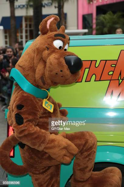 Scooby Doo is seen on March 20 2018 in Los Angeles CA