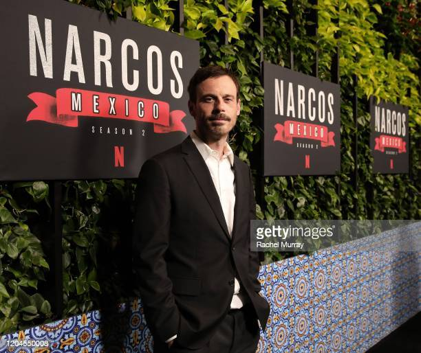 Scoot McNairy attends a special screening of NARCOS MEXICO Season 2 presented by Netflix at Netflix Offices on February 06 2020 in Los Angeles...
