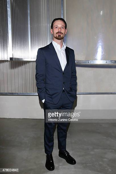 Scoot McNairy attends the Prada show during the Milan Men's Fashion Week Spring/Summer 2016 on June 21 2015 in Milan Italy