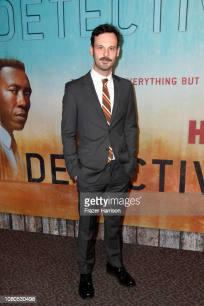Scoot McNairy attends the premiere of HBO's 'True Detective' Season 3 at Directors Guild Of America on January 10 2019 in Los Angeles California