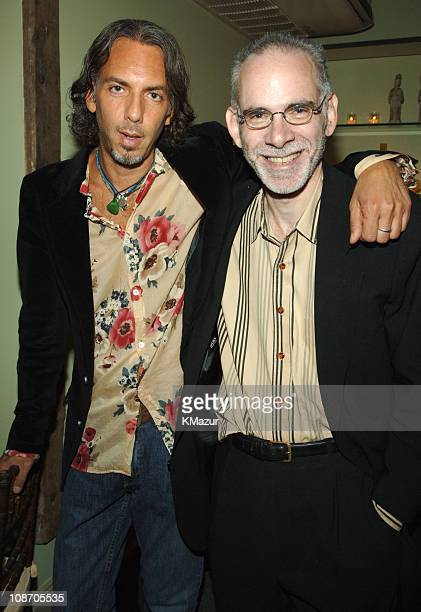 Scooter and Jeff Rosen during Sheryl Crow Wildflower Release Party CoHosted by AOL at Private Residence in New York City New York United States